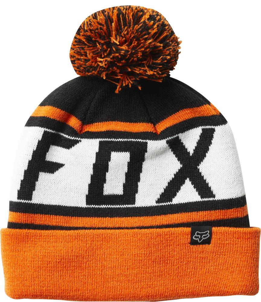 3ab9b00d96 Pánska zimná čiapka Fox Throwback Beanie - Black Orange - Skateshop