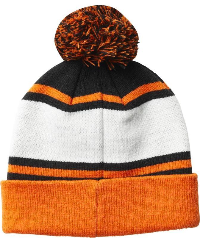 935c83bc6 Pánska zimná čiapka Fox Throwback Beanie - Black/Orange - Skateshop